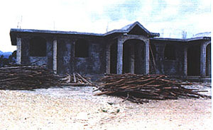 Medical clinic under construction